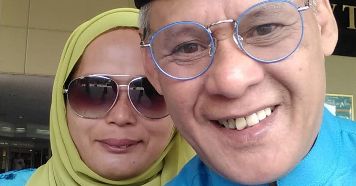 Harun Hashim dan isteri