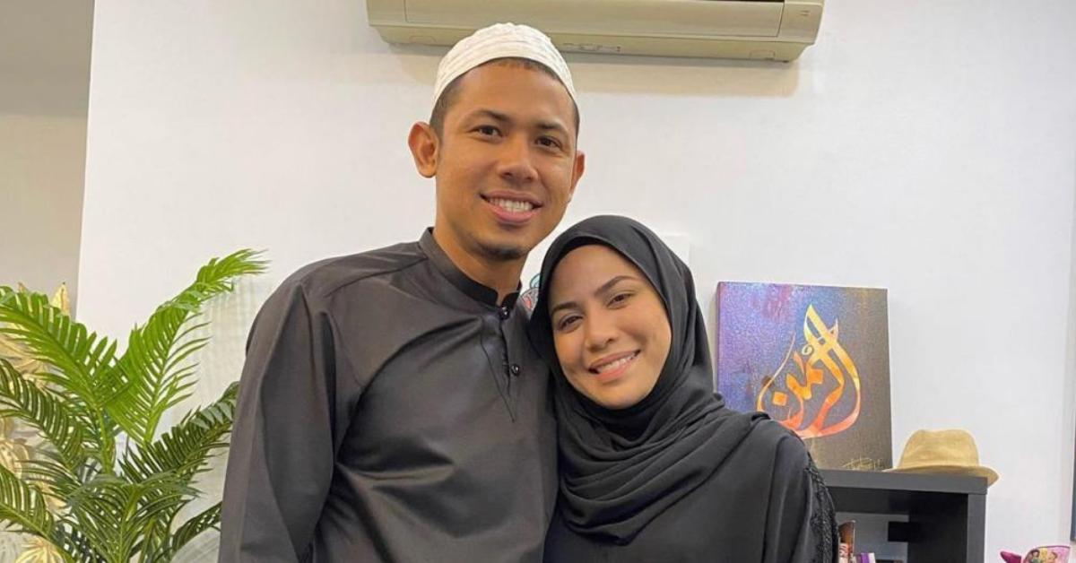 Nabil Ahmad dan isteri