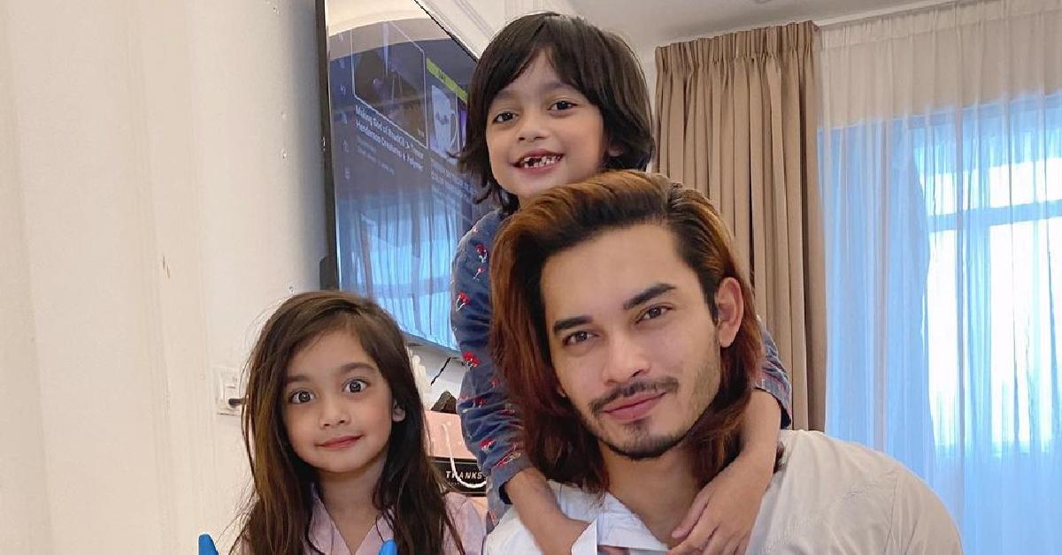 Aeril Zafrel dan anak-anak
