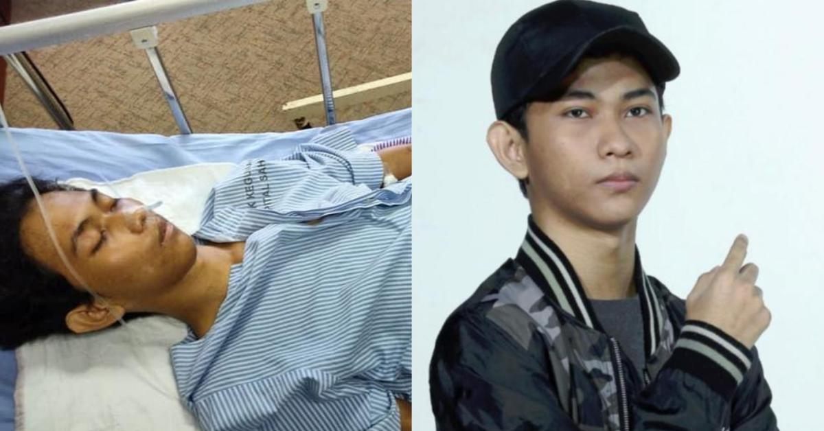 Izuan Fitri di hospital