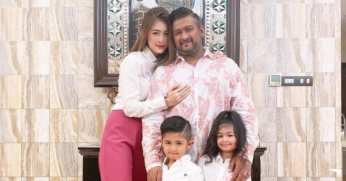 Eina Azman dan keluarga