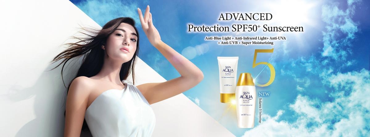 Sunplay Sunscreen promo visual