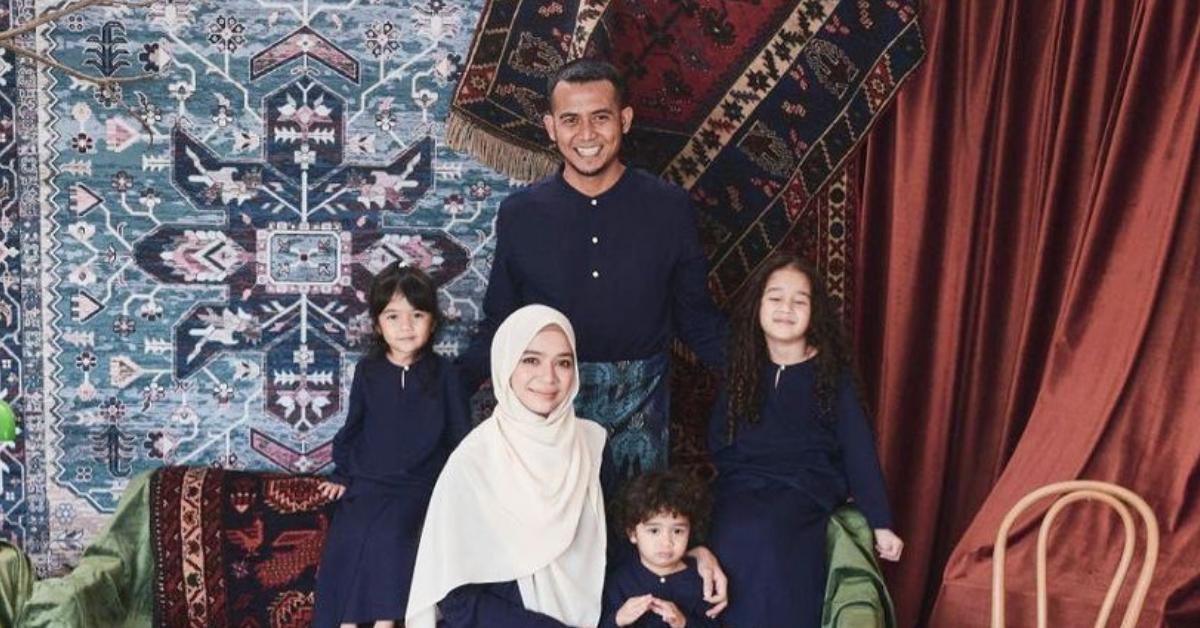 Diana Amir dan keluarga
