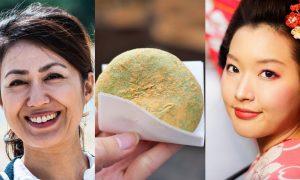 Mochi skin wanita Jepun