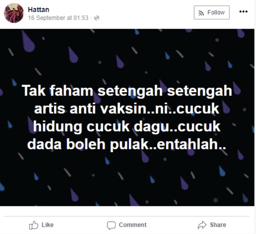 Facebook Datuk Hattan