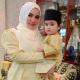Nina Iskandar dan anak