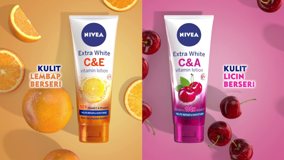 Nivea Vitamin C&E, Nivea Vitamin C&A lotion