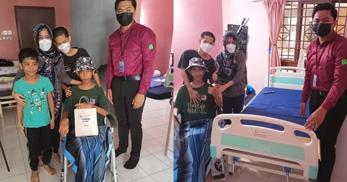 Izuan Fitir keluar hospital