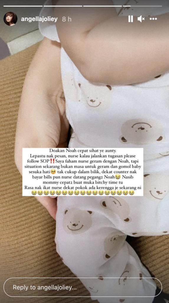 Baby Noah Nazrief Nazri