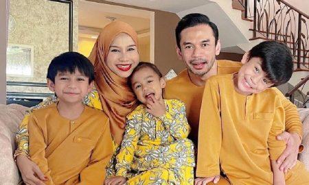 Norman Hakim dan keluarga