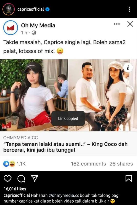 caprice king coco