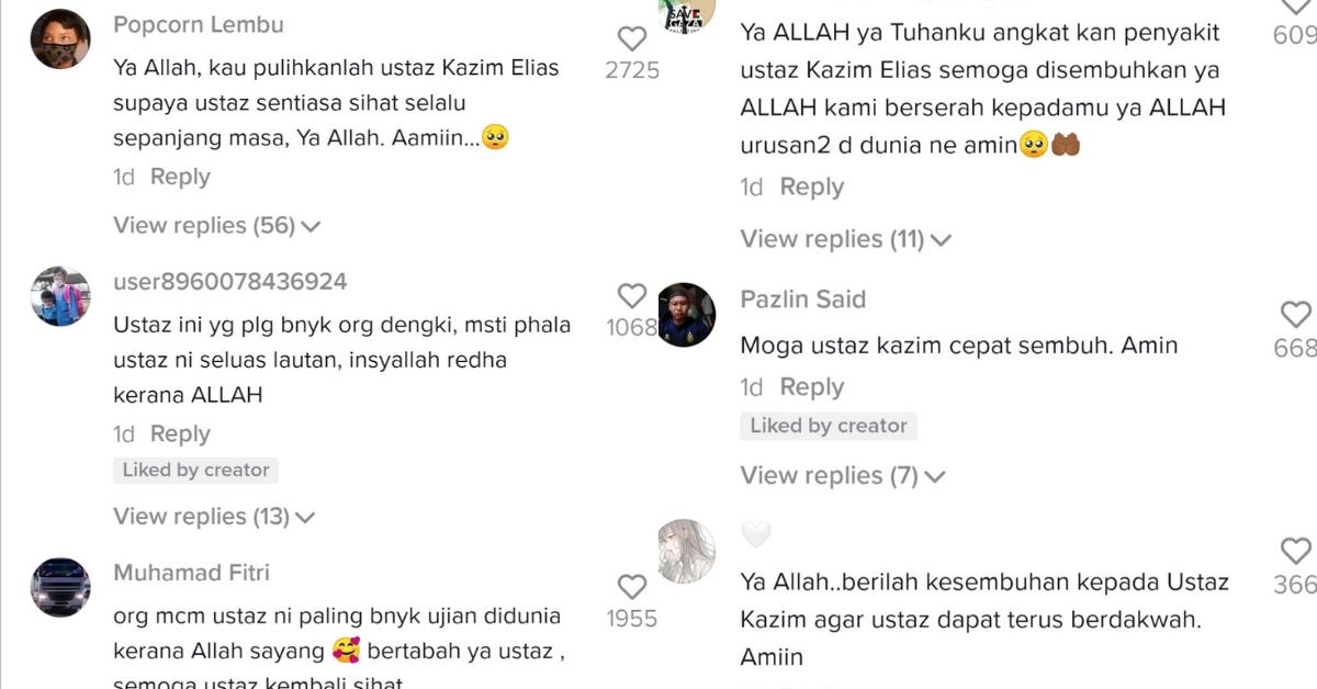Komen TikTok Imran Ismail
