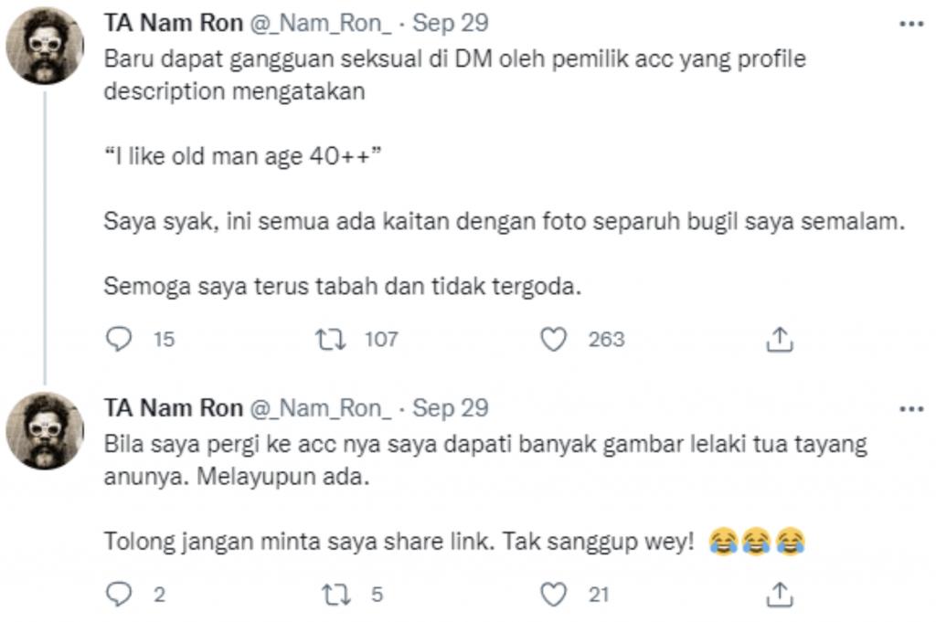 Twitter Namron