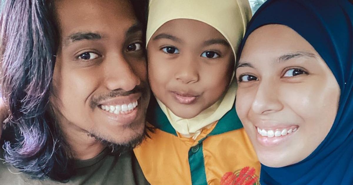 Faralyna Idris dan keluarga