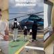 Hairul Azreen sekeluarga naik helikopter