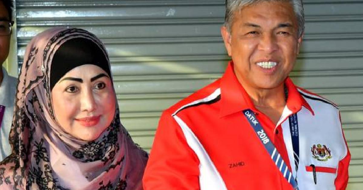 Zahid Hamidi dan Isteri